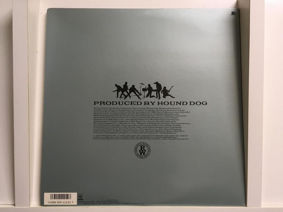 HOUND DOG5枚セット HOUND DOG 画像
