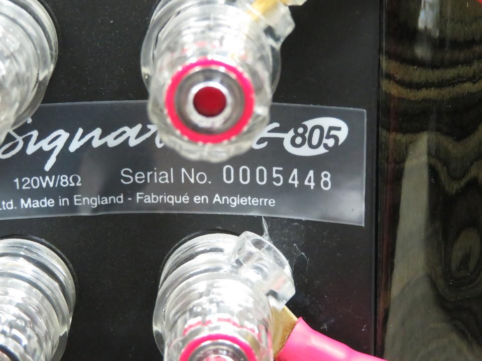Signature 805 B&W 画像