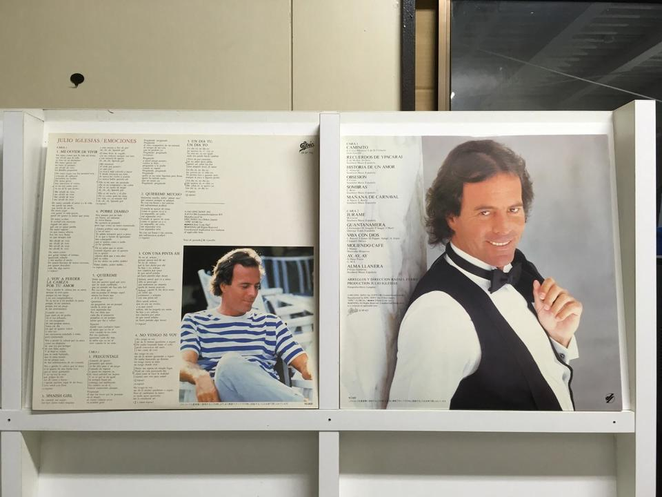 フリオ・イグレシアス5枚セット フリオ・イグレシアス 画像