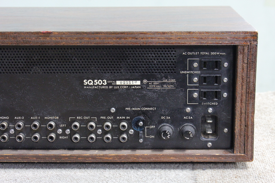 SQ503 LUXMAN 画像