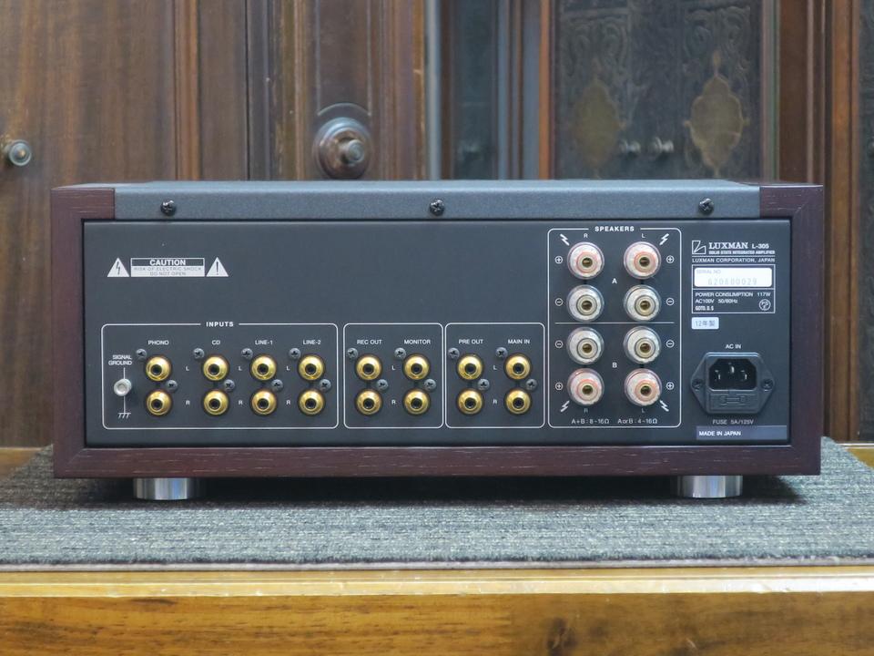 L-305 LUXMAN 画像