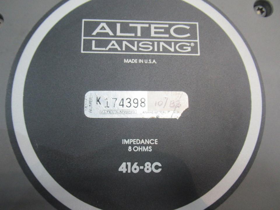 416-8C ALTEC 画像