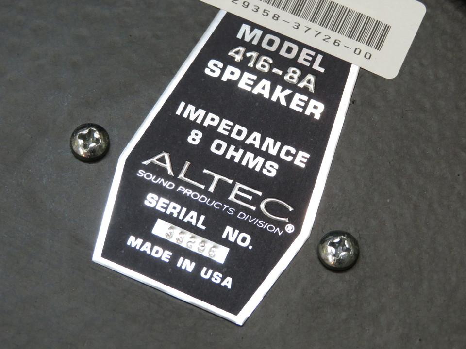 416-8A ALTEC 画像