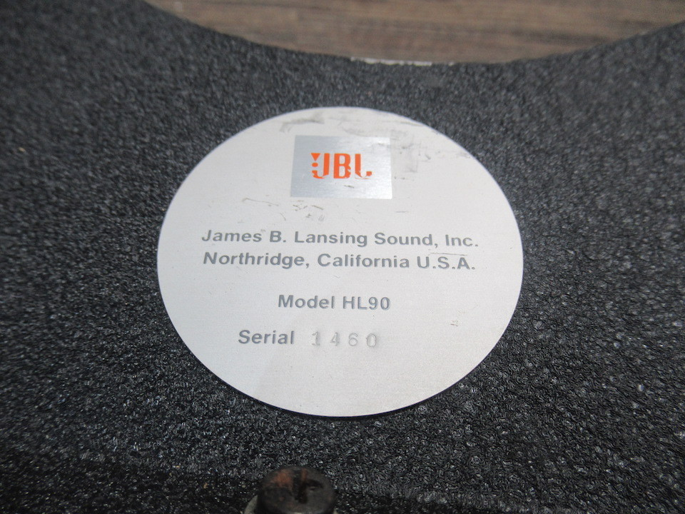 HL90 JBL 画像