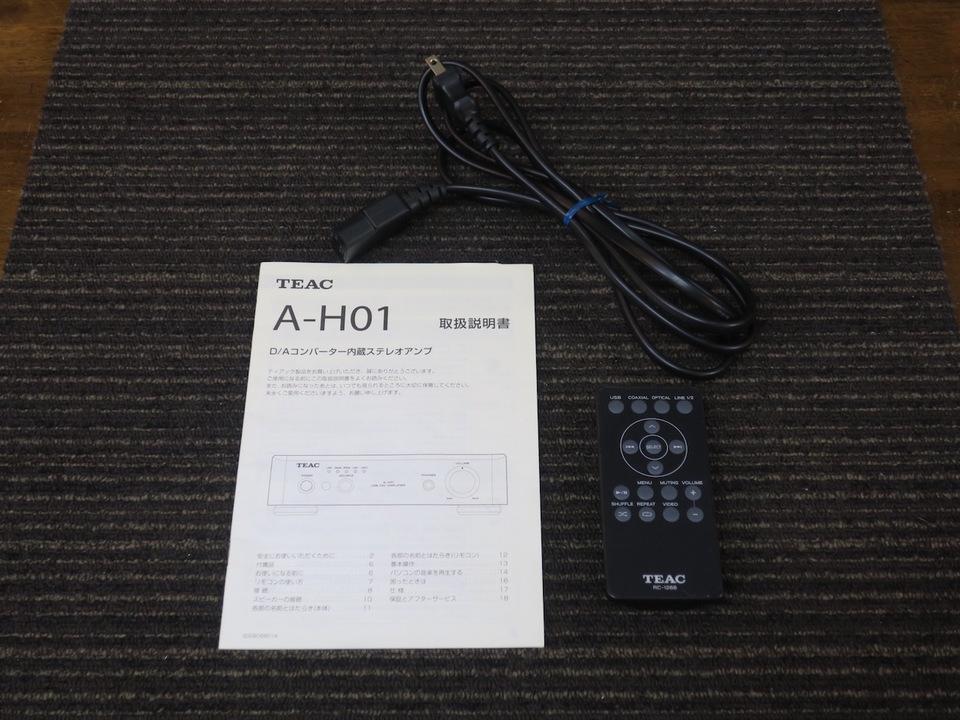 A-H01 TEAC 画像
