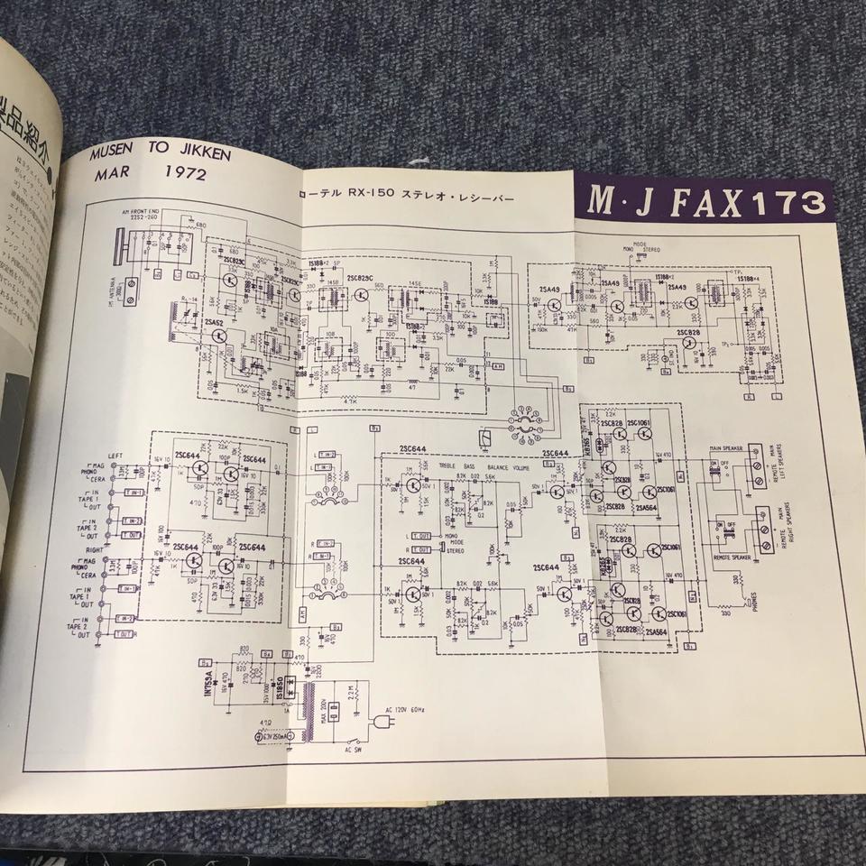 MJ-無線と実験- 1972年03月号  画像