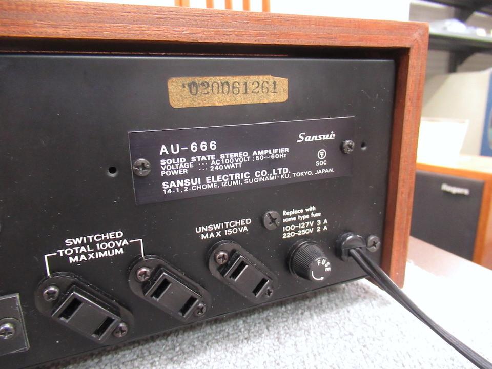 AU-666 SANSUI 画像