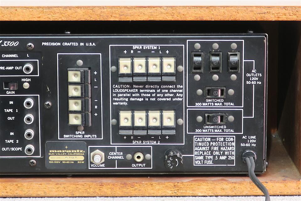 model 3300 marantz 画像
