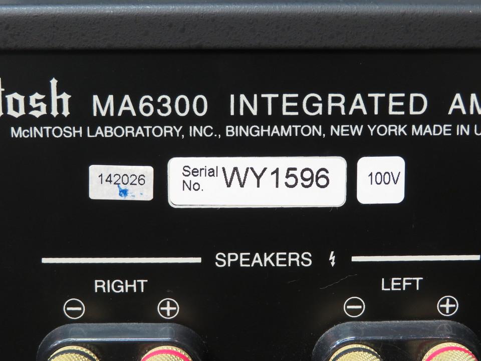 MA6300 McIntosh 画像