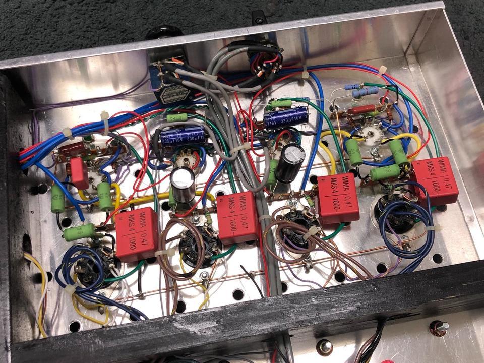 自作パワーアンプ(KT88pp) 自作 画像
