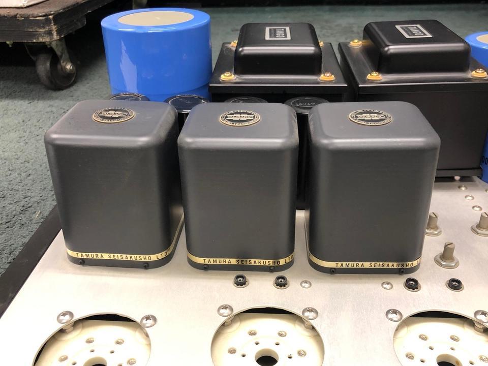 自作パワーアンプ(6C33Cpp) 自作 画像