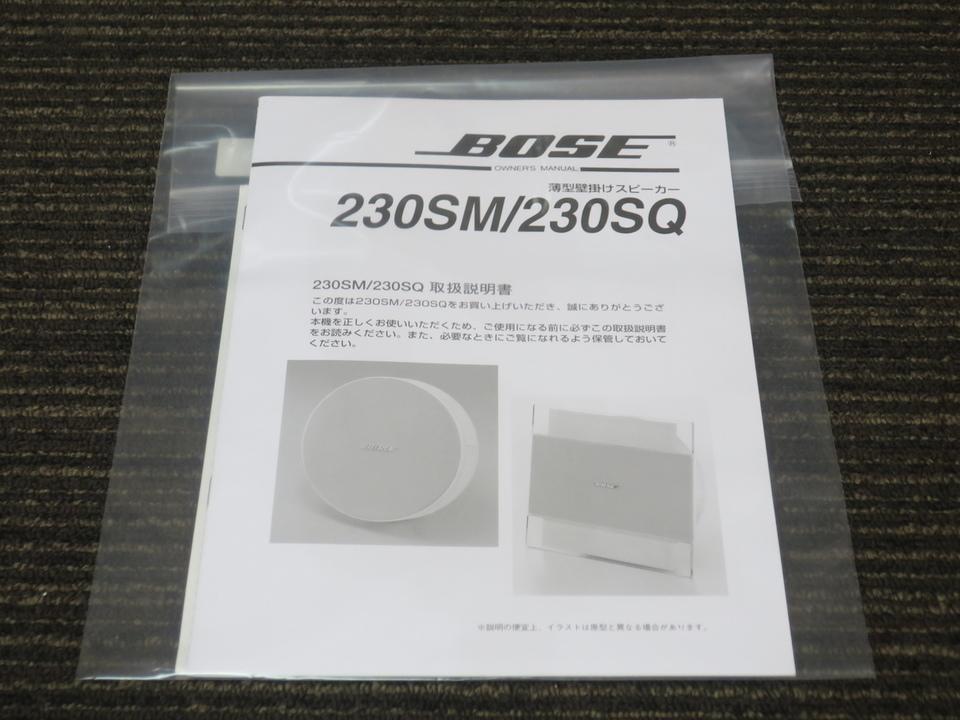 230SQ BOSE 画像