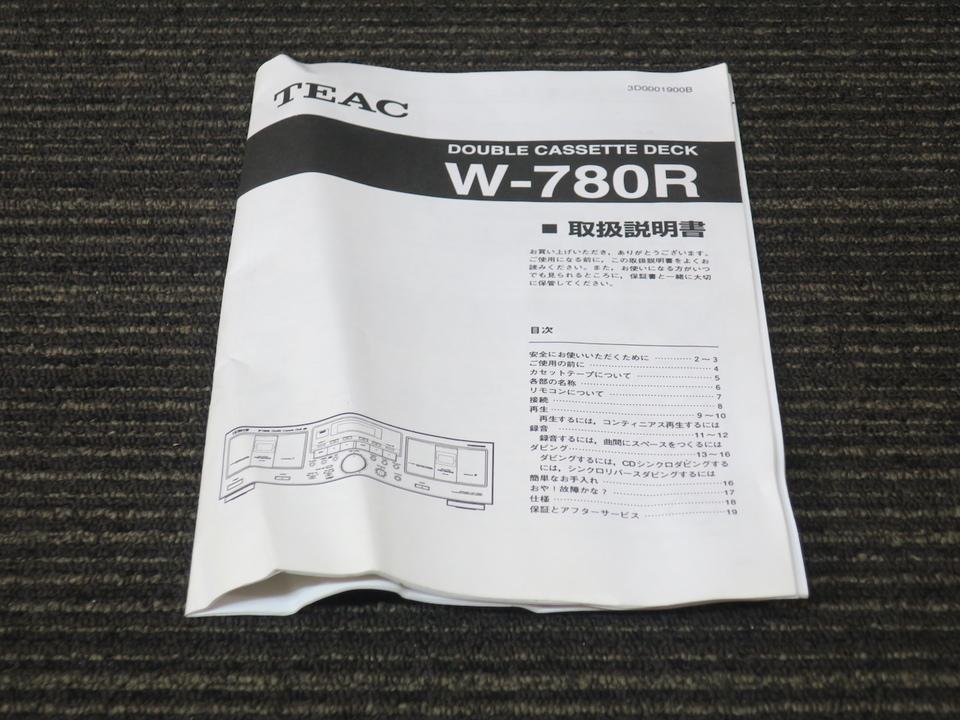 W-780R TEAC 画像