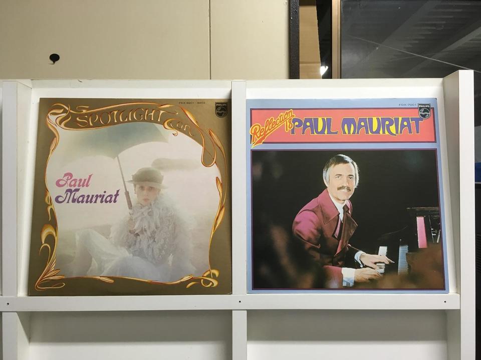 ポール・モーリア5枚セット ポール・モーリア 画像
