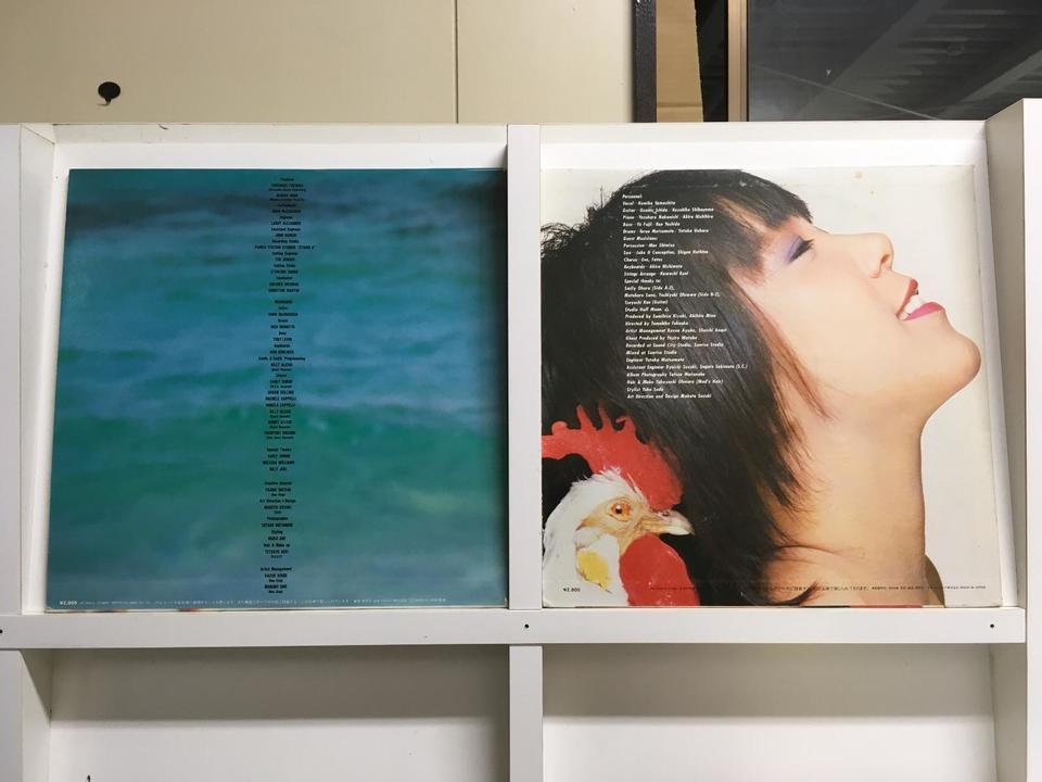 山下久美子5枚セット  画像