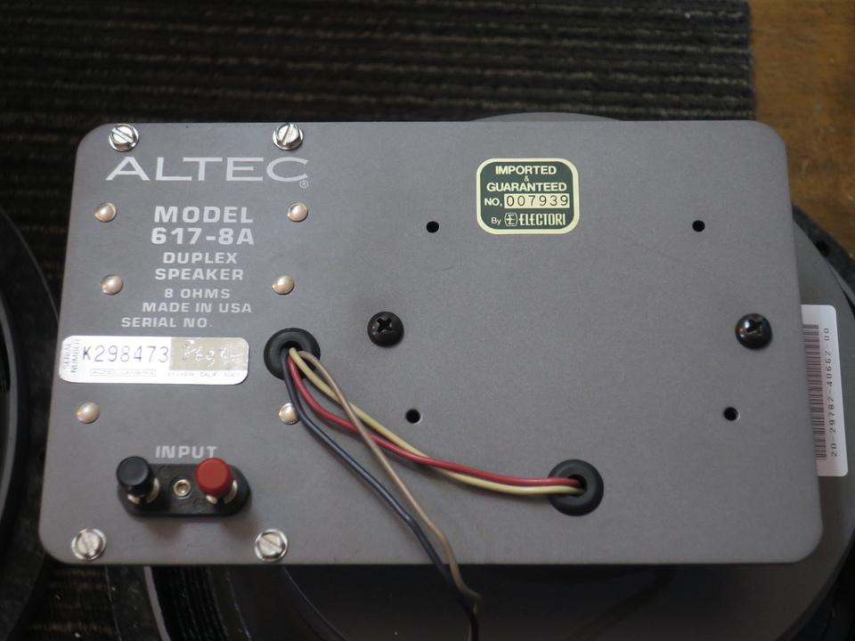 617-8A ALTEC 画像