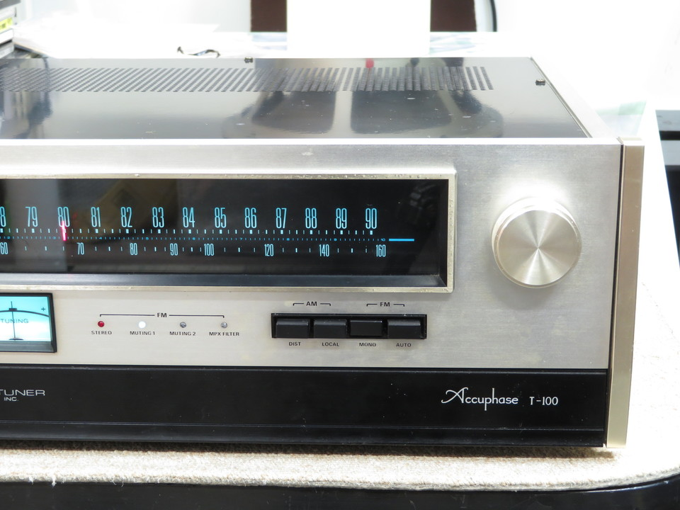 T-100 Accuphase 画像