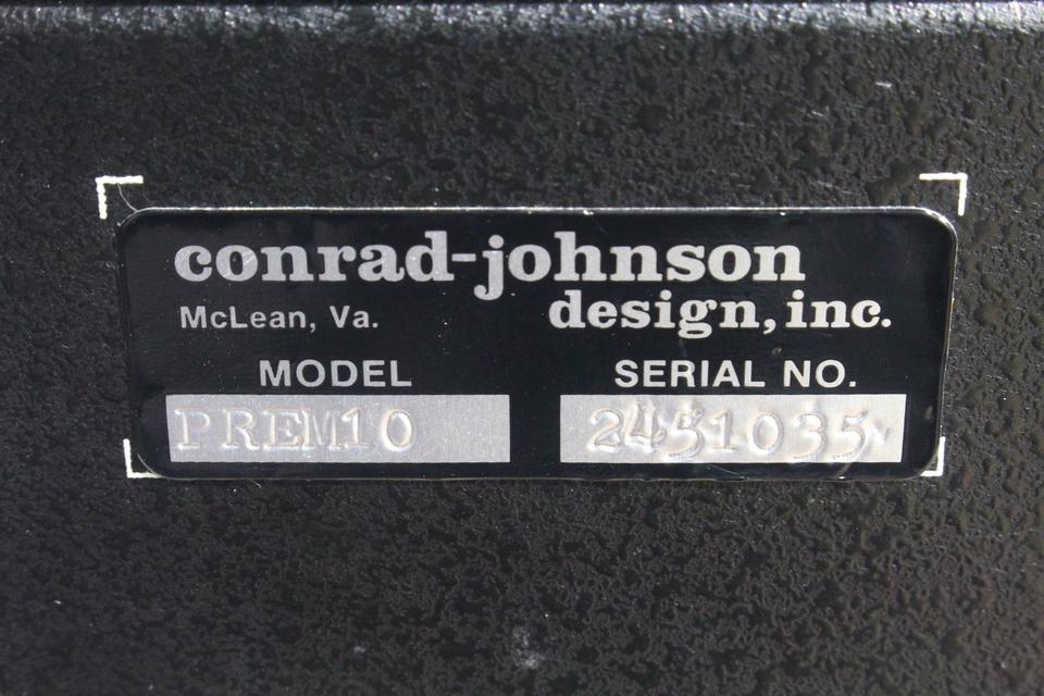 Premier 10 Conrad Johnson 画像