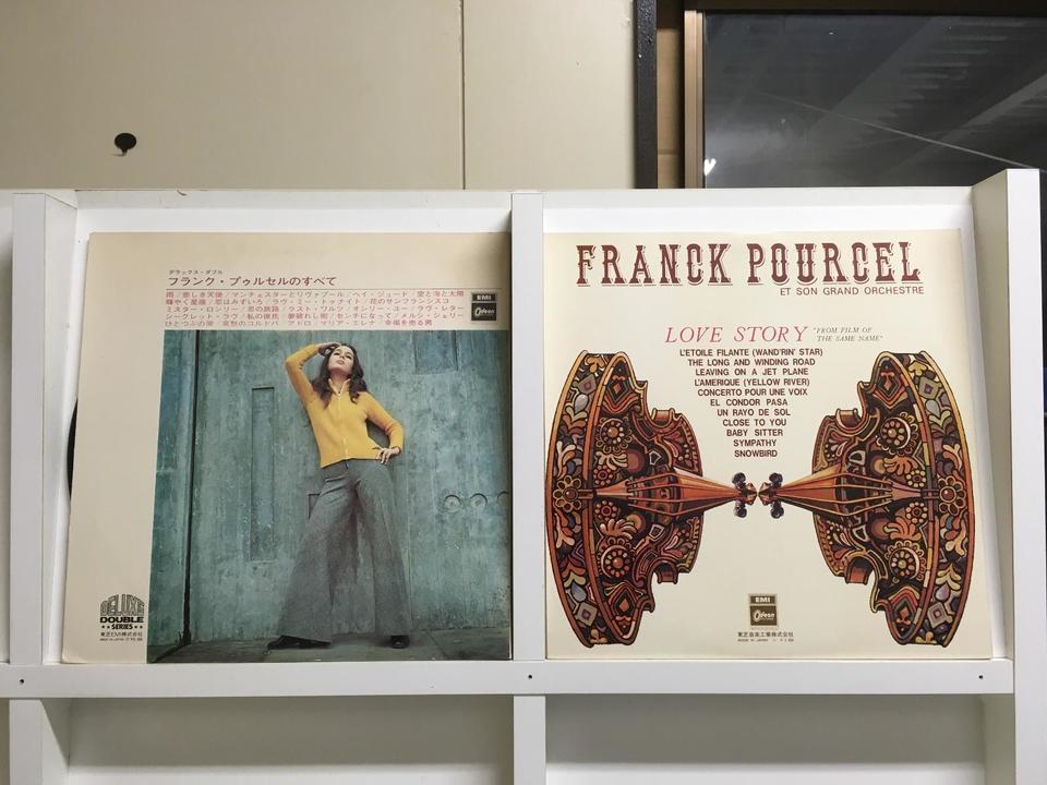 フランク・プゥルセル5枚セット  画像