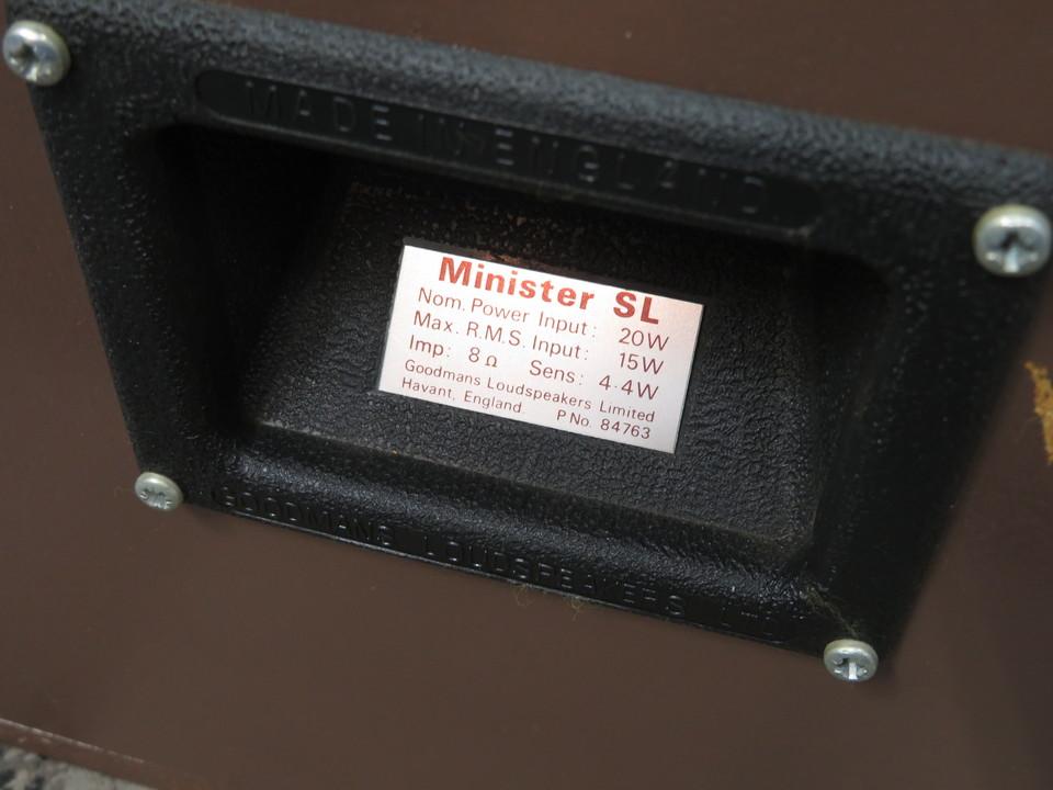 MINISTER SL GOODMANS 画像