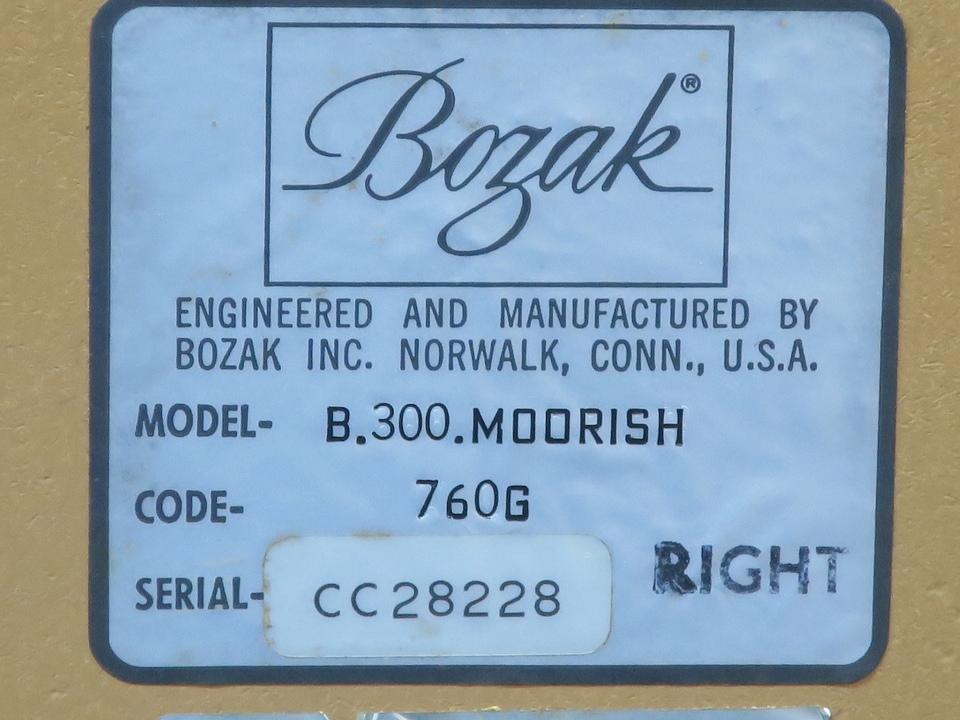B-300 MOORISH BOZAK 画像