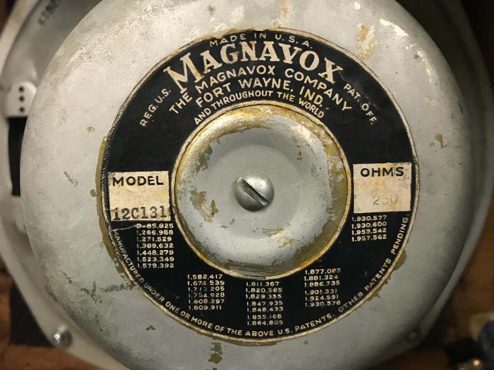 12C131 MAGNAVOX 画像