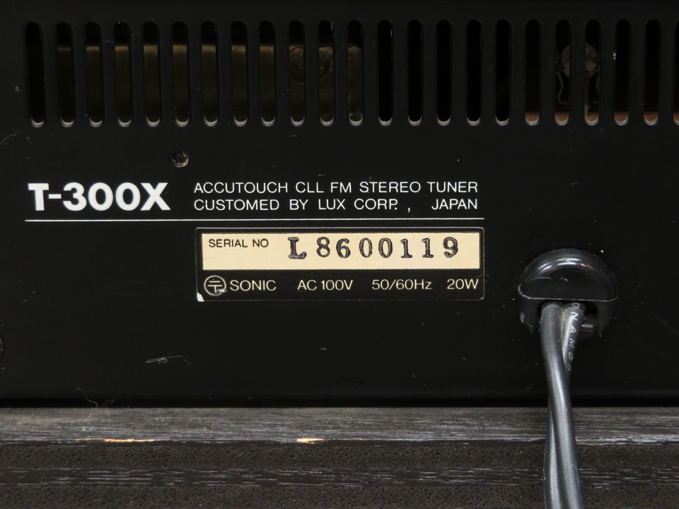 T-300X LUXMAN 画像