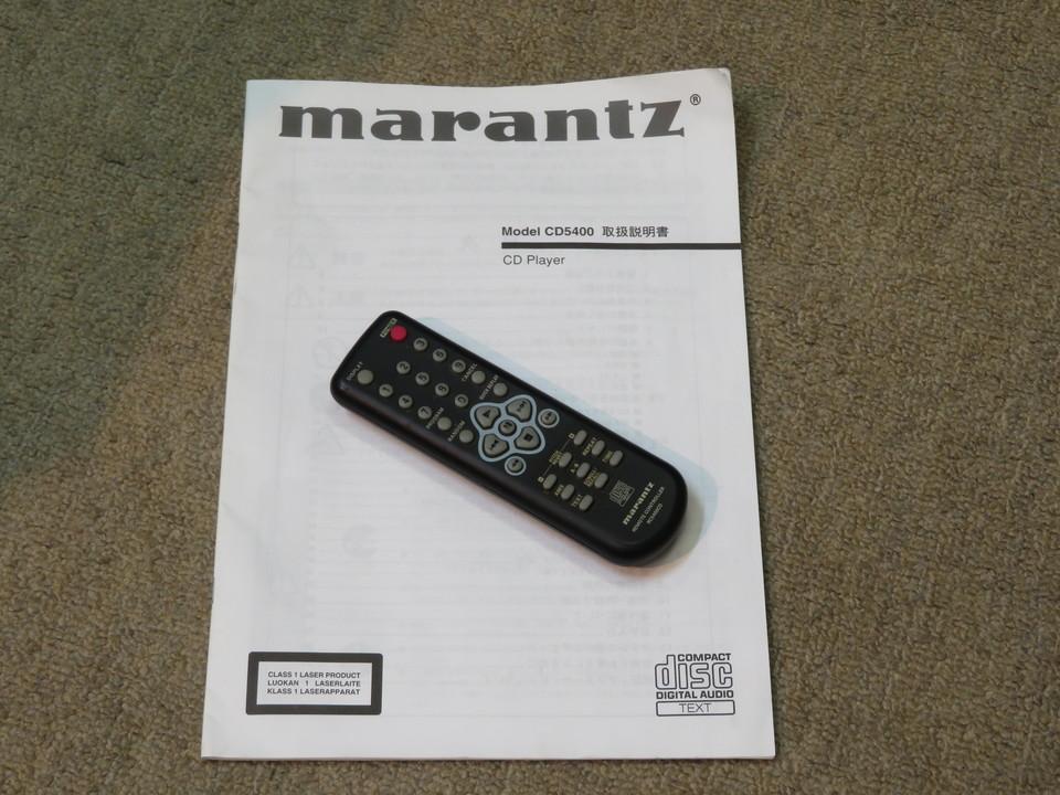 CD5400 marantz 画像