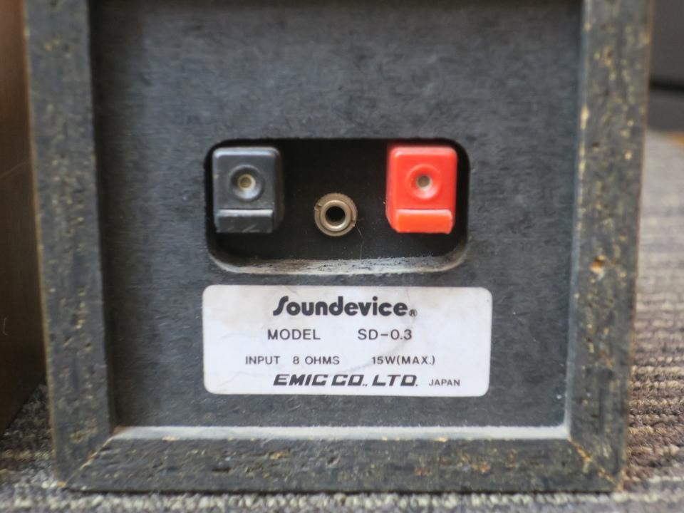 SD-0.3 soundevice 画像