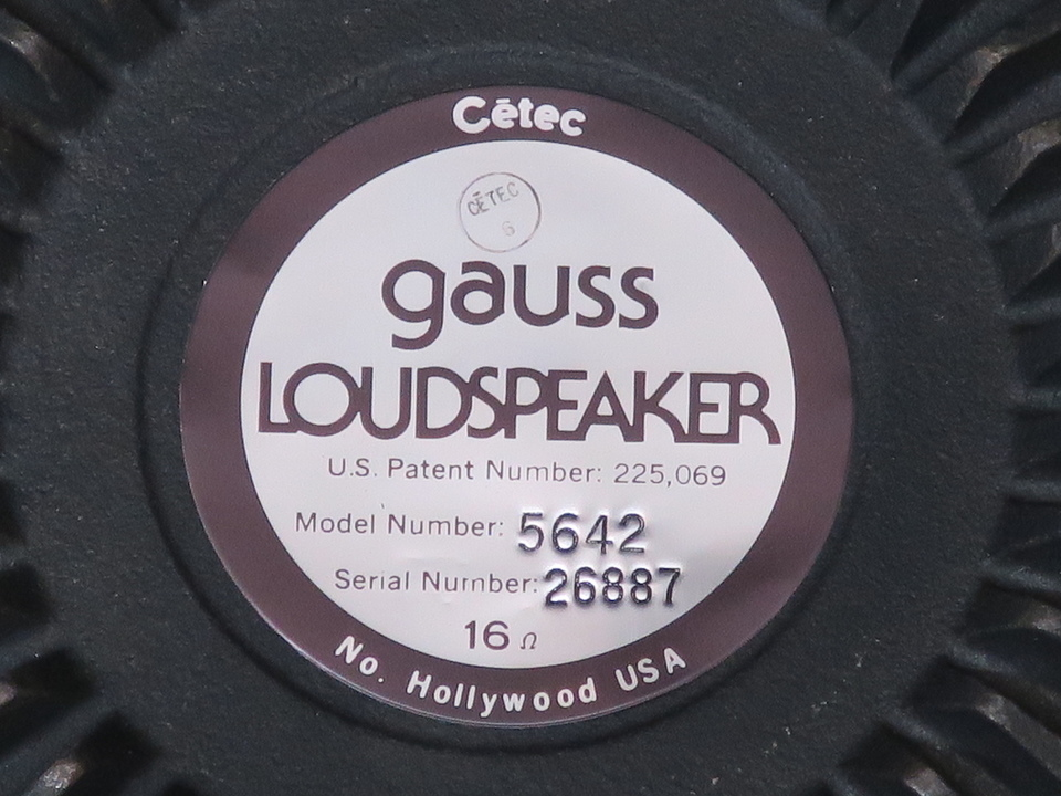 5642 GAUSS 画像