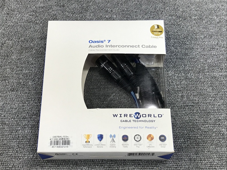 OASIS 7/0.5m WIREWORLD 画像