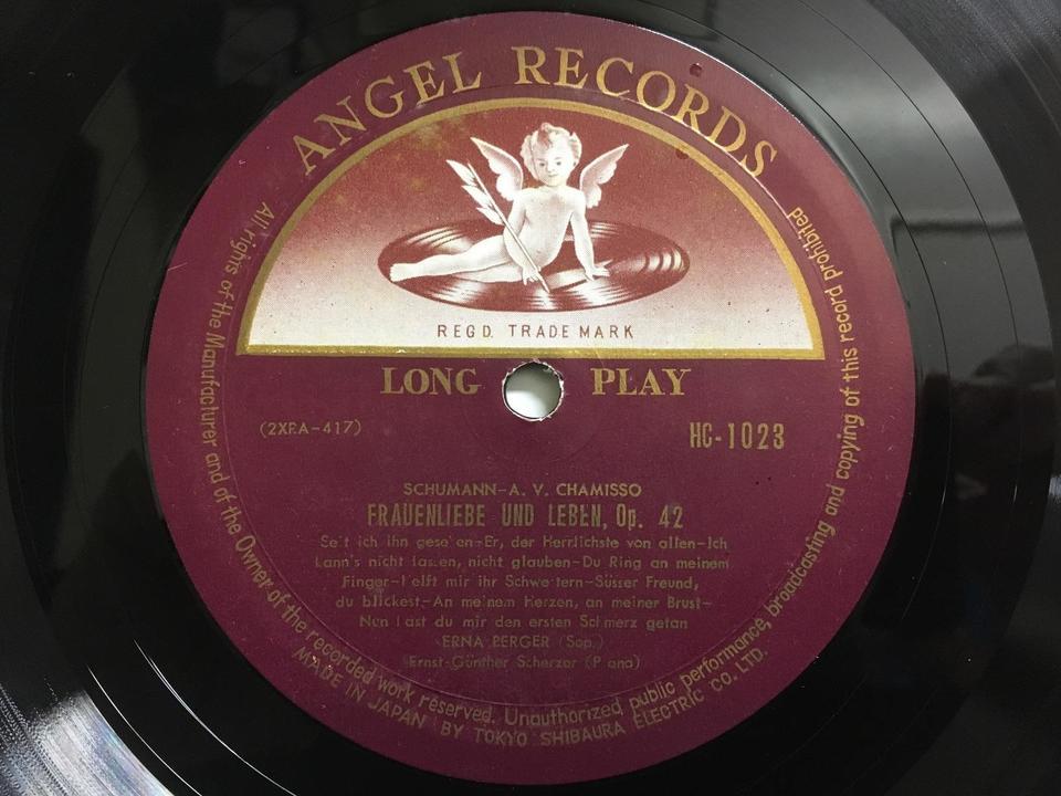 ANGELレーベルの名ソプラノたち6枚セット  画像