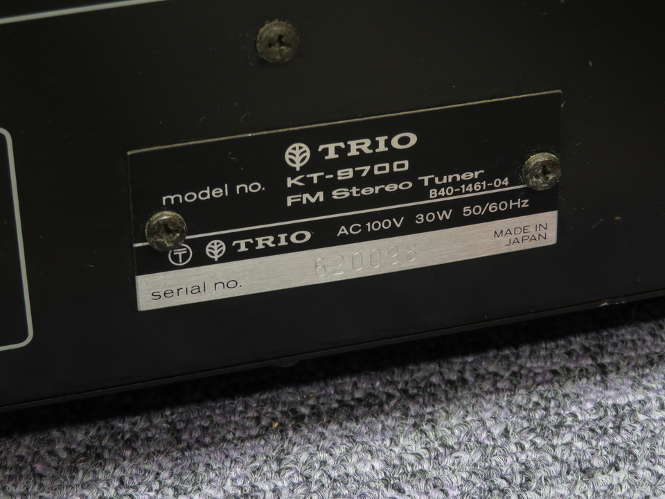 KT-9700 TRIO 画像