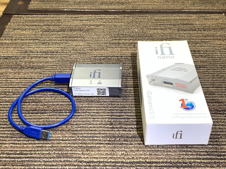 nano iGalvanic3.0 ifi audio 画像