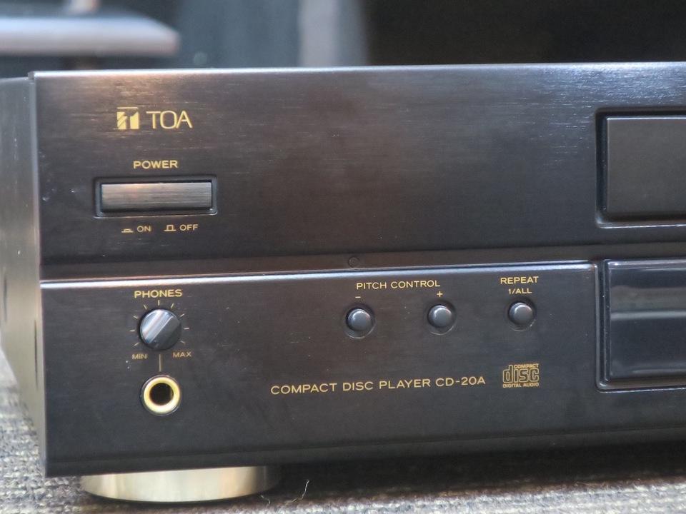CD-20A TOA 画像