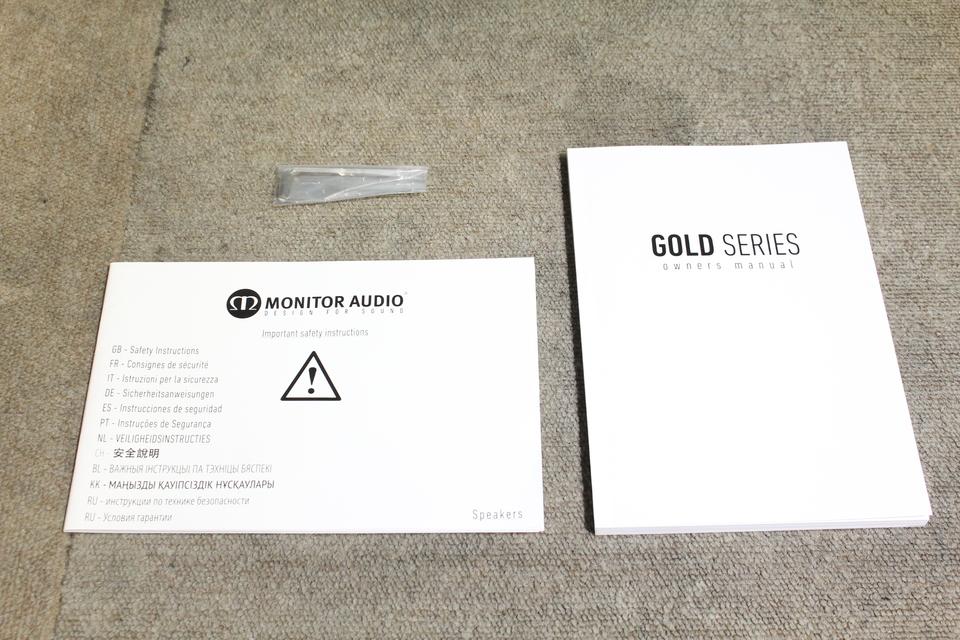 GOLD 200PB MONITOR AUDIO 画像