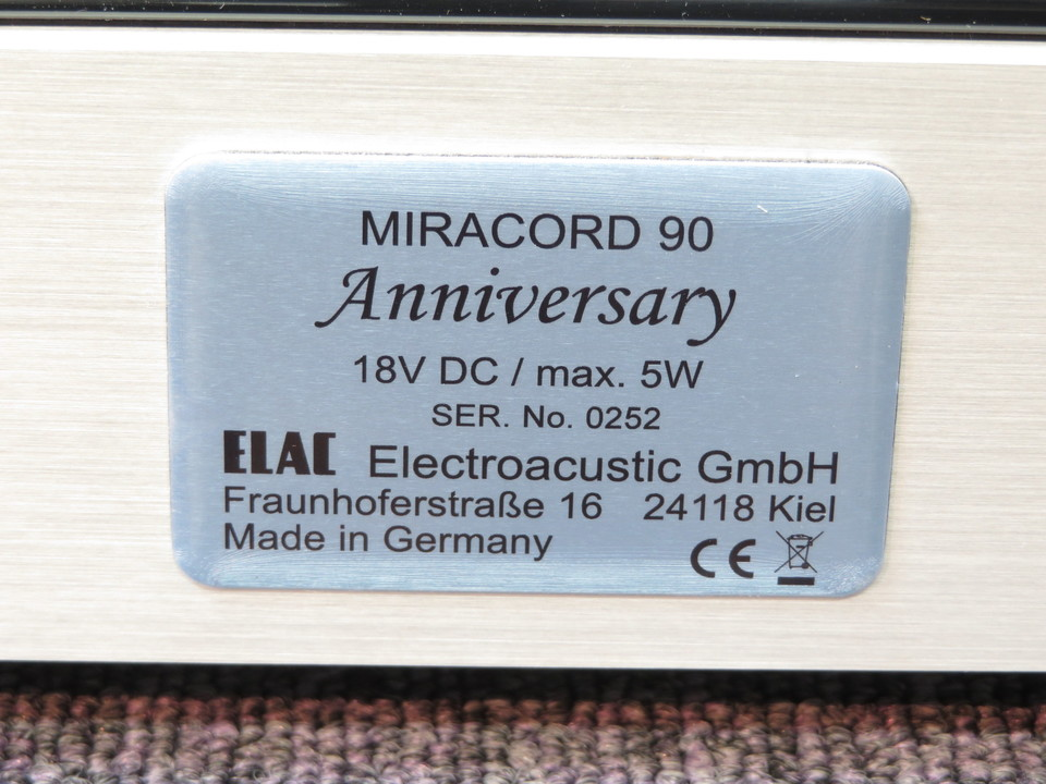 MIRACORD90 ELAC 画像