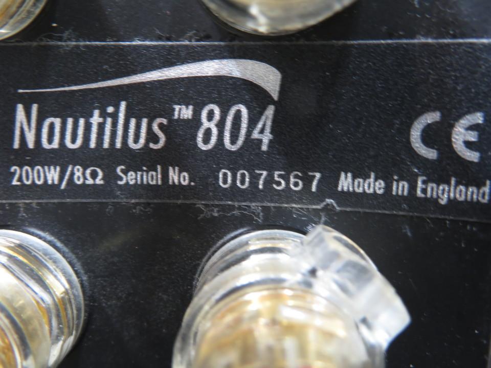 Nautilus 804 B&W 画像