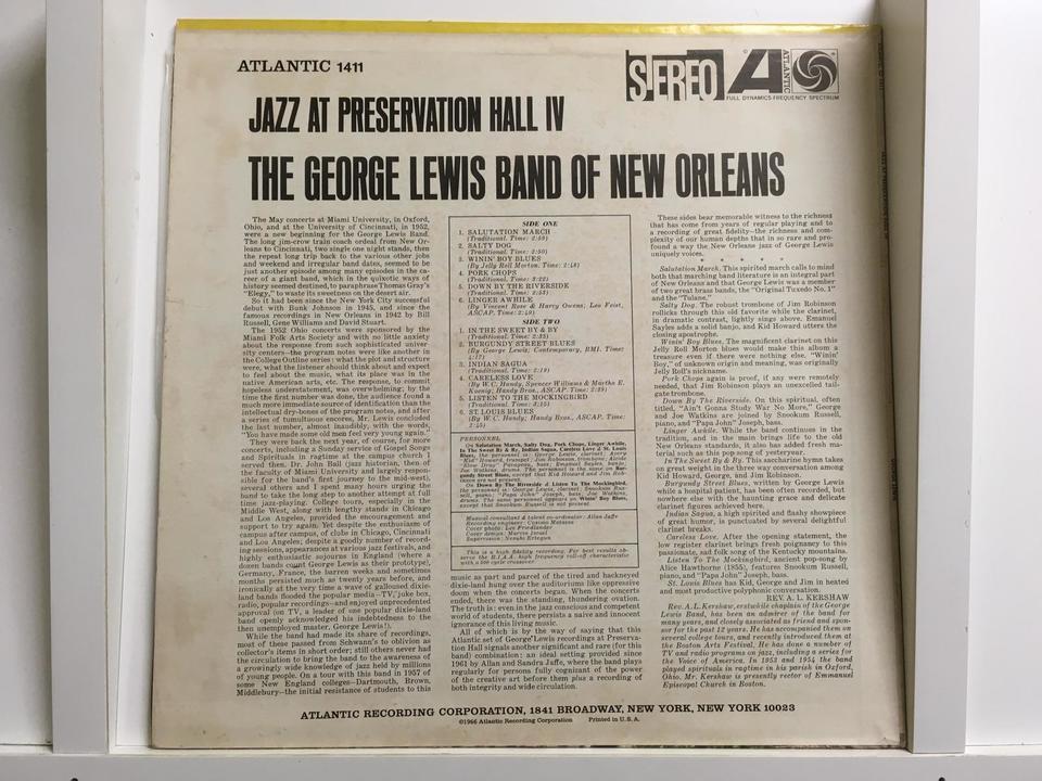 ジョージ・ルイス6枚セット ジョージ・ルイス 画像