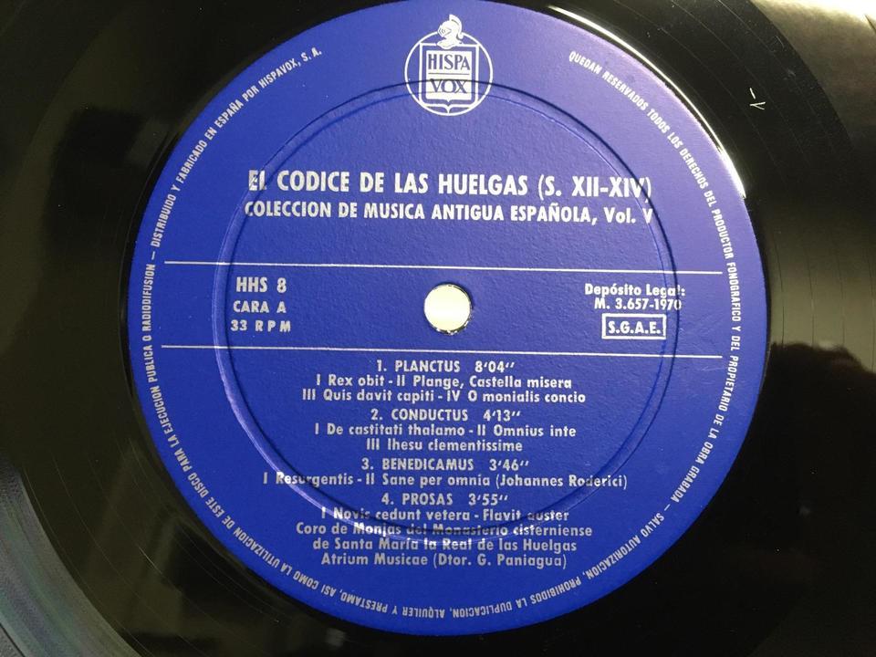 スペイン古音楽集成(輸入盤)5枚セット  画像