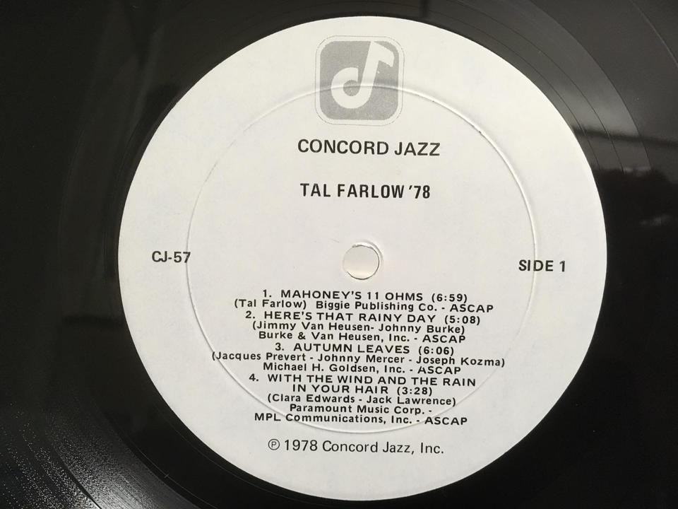 ジャズ ギター5枚セット  画像