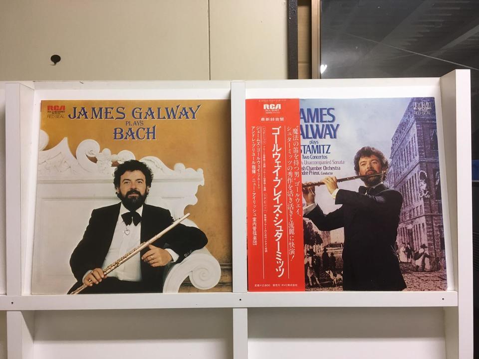ジェームズ・ゴールウェイ5枚セット  画像
