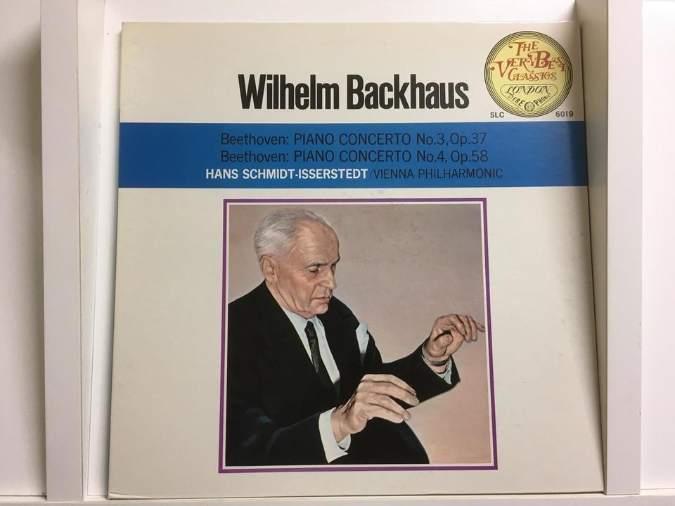 ヴィルヘルム・バックハウス5枚セット  画像