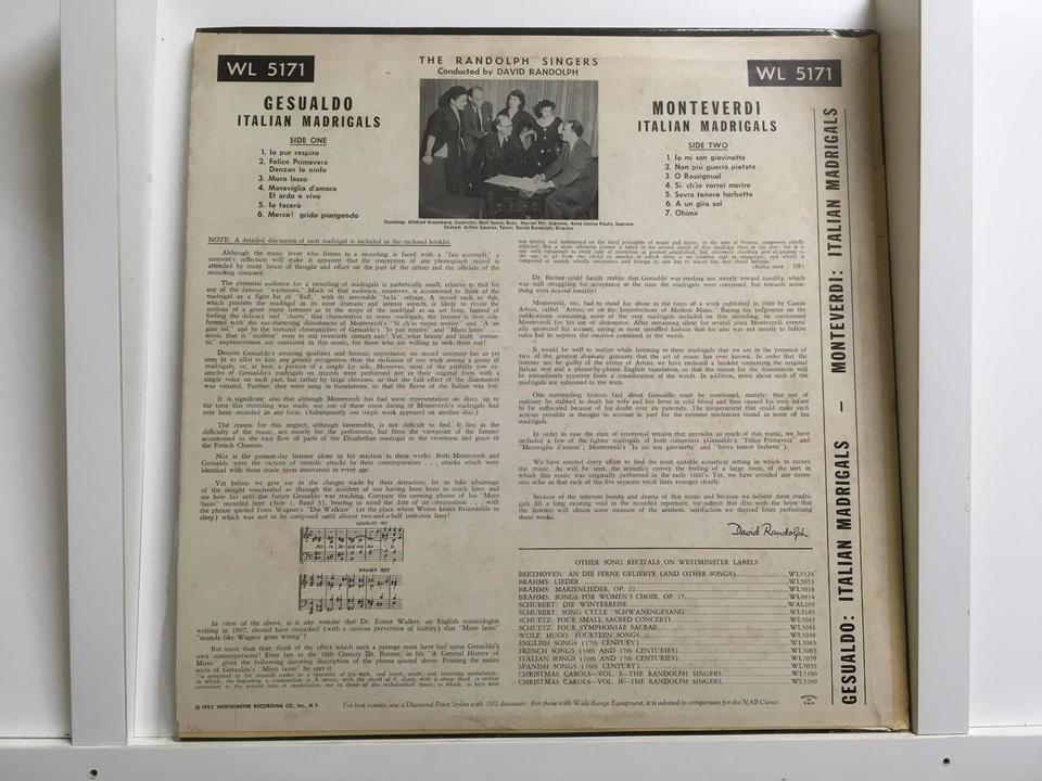 Westminsterレーベル(輸入盤)7枚セット  画像