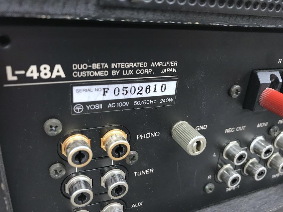 L-48A LUXMAN 画像