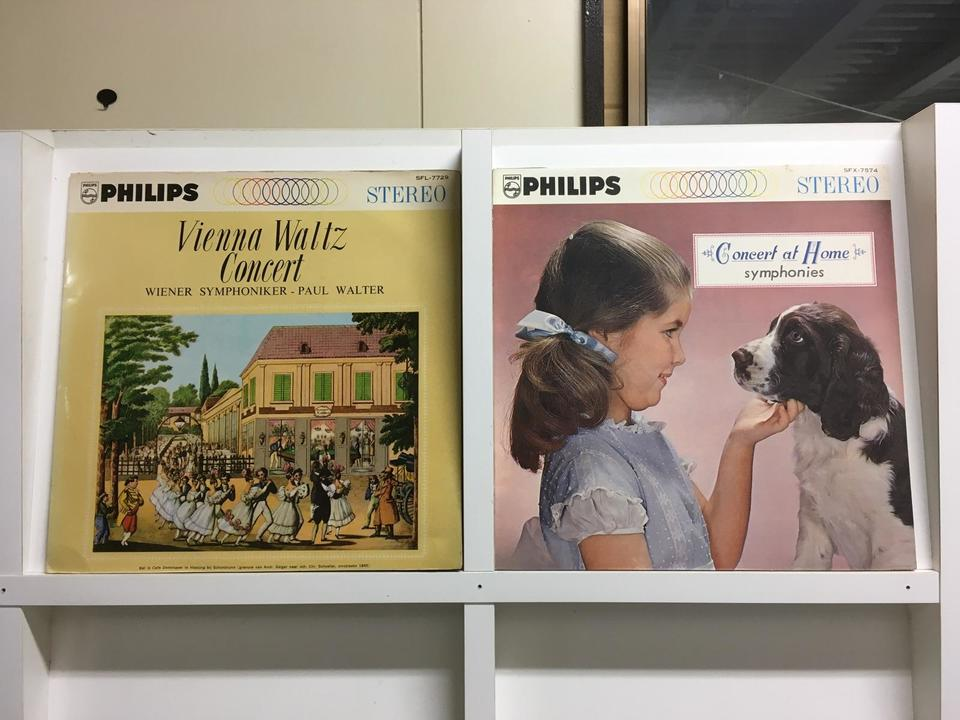 PHILIPS STEREO5枚セット  画像