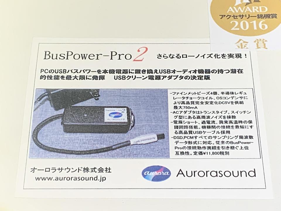 BusPower-Pro2 AURORA SOUND 画像