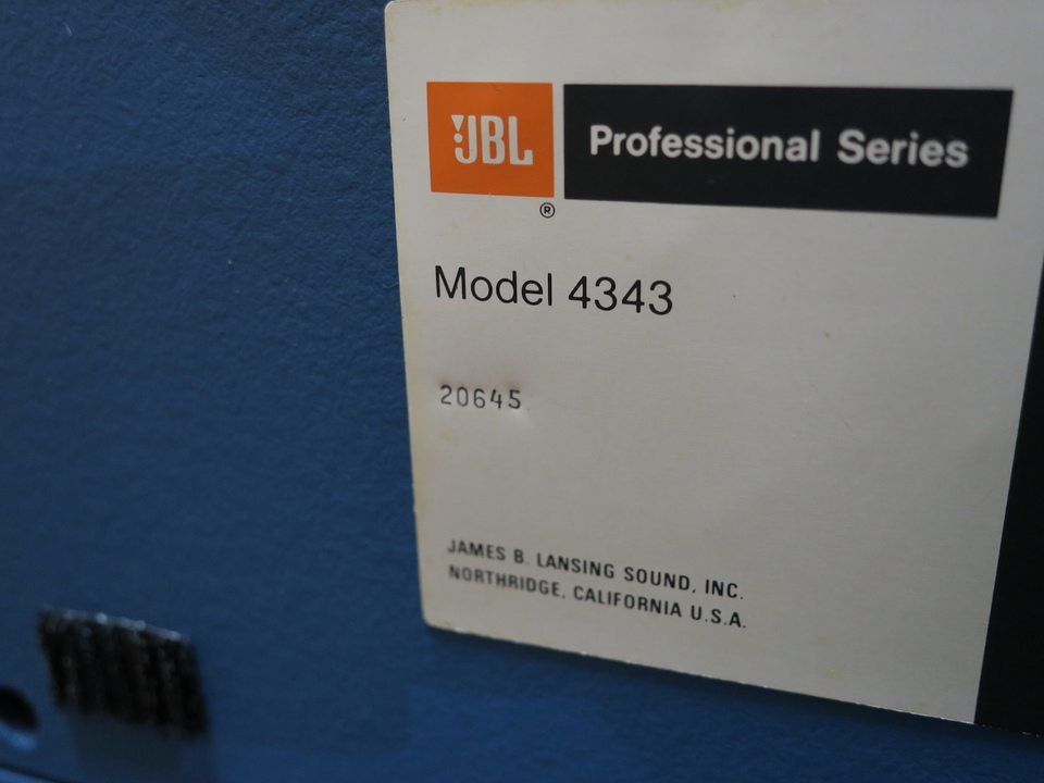 4343WX JBL 画像