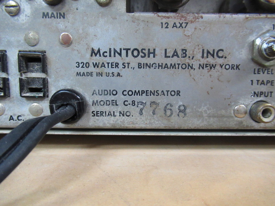C8 McIntosh 画像