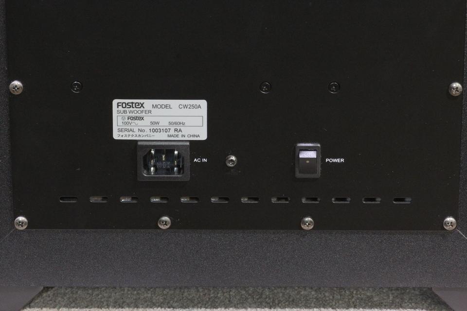 CW250A FOSTEX 画像